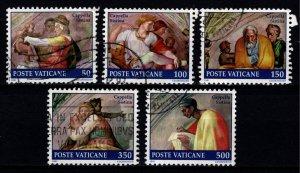 Vatican City 1991 Restoration of Sistine Chapel, Part Set [Used]