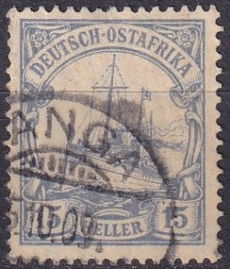German East Africa #34  F-VF Used (Z9677)