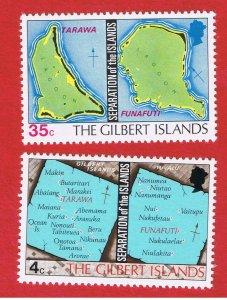 Gilbert Islands #267-268  MNH OG  Separation  Free S/H