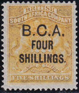 British Central Africa 1892-1893 SC 19 MLH