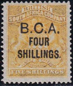 British Central Africa 1892-1893 SC 19 MLH