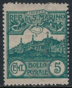 San Marino #42  CV $7.50
