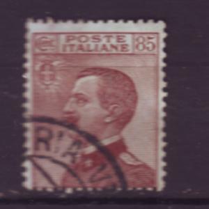 J20292 jlstamps 1908-28 italy #110 king