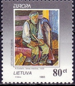 Lithuania. 1993. 544. Europe. MNH.