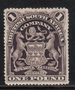 Rhodesia #72 (SG #90) Very Fine Mint Full Original Gum Hinged Perf 15.5