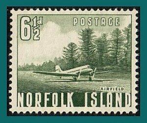 Norfolk Island 1953 Aircraft, used  #14,SG14