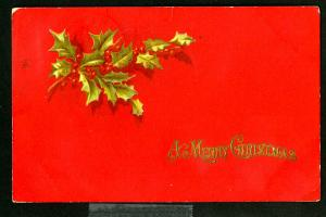 US Stamps # WX1 on Cvr Superb Tied to Christmas Card