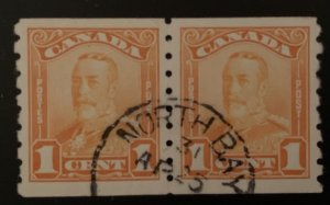Canada #160 XF USED Coil Pair with CDS