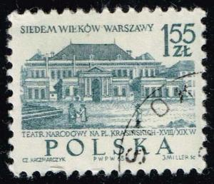 Poland #1340 National Theater; CTO (0.25)