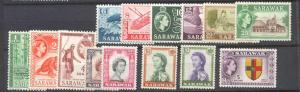 Sarawak 197-211, 14 MH values SCV76.80