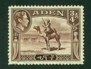 Aden 1939 #17 MH SCV (2020)=$2.50