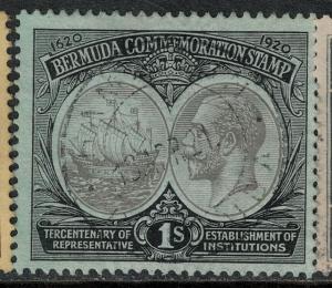 Bermuda 1920-1921 SC 60 Used SVC 65.00 Stamp