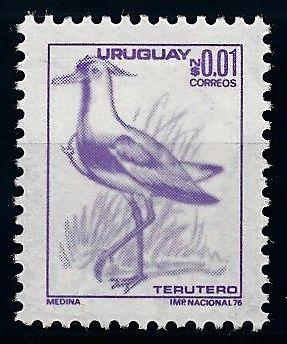 [66343] Uruguay 1976 Bird From Set MLH