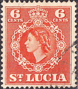 St. Lucia    #162    Used