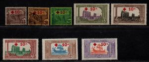 $Tunisia Sc#B3//11 used+M/H/VF, part set, ex. B9, B5 no gum, Cv. $147.80