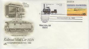 1991 Railroad Pictorial - West Allis WI Artcraft