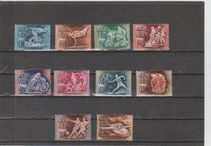 Hungary  Scott#  920-924, C82-C86  MH  (1950 Sports)