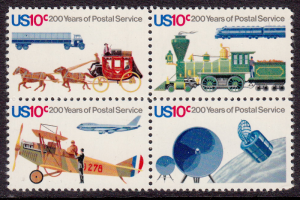 United States #1572-1575, USPS Bicentennial, MNH, Please see the description.