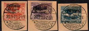 Upper Silesia #32-4  F-VF Used  CV $34.00 (X2440)