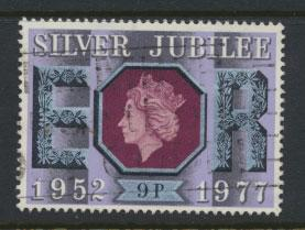 Great Britain SG 1034  - Used - Royal Silver Jubilee