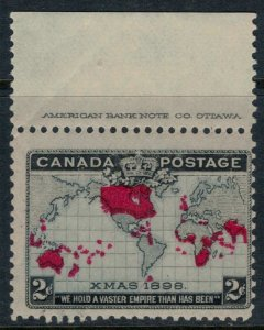 Canada #85* NH  CV $100.00  World's first Christmas stamp