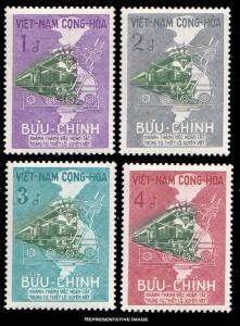 Vietnam Scott 116-119 Unused.