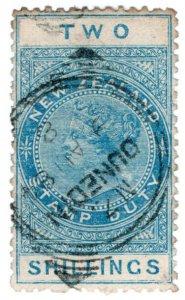 (I.B) New Zealand Revenue : Stamp Duty 2/- (Dunedin)