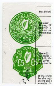 (I.B) Ireland Revenue : Impressed Duty £5.50