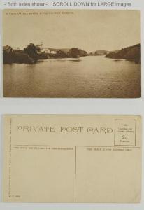 Musquodobuit Harbor Nova Scotia A View on the River c 1910+/