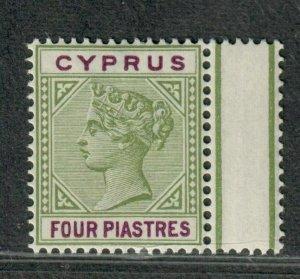 Cyprus Sc#32 M/NH/VF, Cv. $21