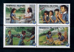 [71722] Marshall Islands 1986 Scouting Pfadfinder  MNH