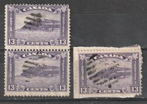 #201 Canada Used Pair & Single Medallion Issues