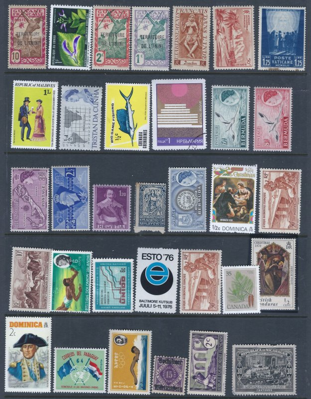 33 WW MINT STAMPS SELLING AT LOW PRICE!
