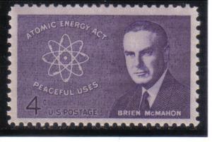 1200- .04cent Atomic Energy, mnh f-vf.