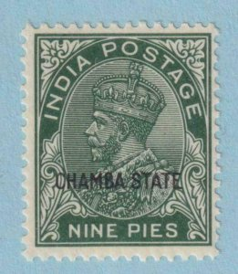 INDIA - CHAMBA STATE 61  MINT  HINGED OG * NO FAULTS  EXTRA FINE !