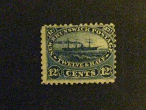 New Brunswick #10 unused short perf at top c203 39