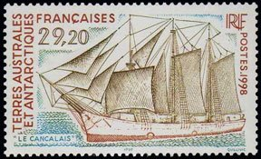 Scott #243 Sailing Ship MNH