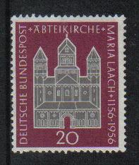 Germany 1956  MNH  Maria Laach Church complete