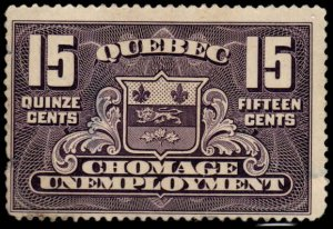 Canada - 15 cent - Unemployment - Used