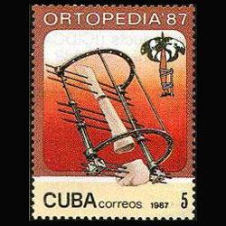 CUBA 1987 - Scott# 2944 Orthoppedists Set of 1 NH