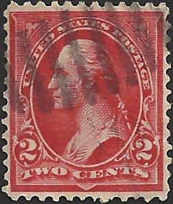 # 279B USED RED GEORGE WASHINGTON