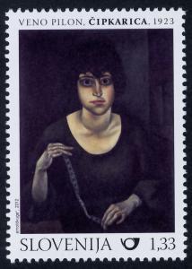 Slovenia 950 (MI971) MNH Expressionism, Art