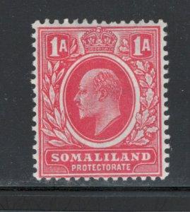 Somaliland 1909 King Edward VII 1a Scott # 50 MH