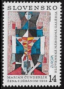 Slovakia #166 MNH Stamp - Europa - Art