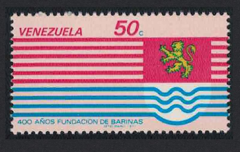 Venezuela 400th Anniversary of Barinas 1v SG#2353 SC#1164
