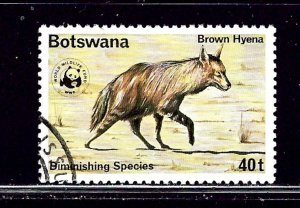 Botswana 186 Used 1977 Hyena