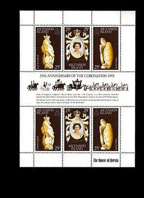 ASCENSION - 1978 - QE II - CORONATION ANNIVERSARY - MINT - MNH S/SHEET!