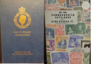 1968 Commonwealth Catalogue of King George VI Bridger & Kay 12th edition