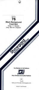 SHOWGARD BLACK MOUNTS 264/76 (5) RETAIL PRICE $11.95