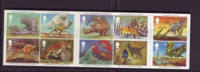 Great Britain Sc 2016a 2002 Kipling Just So Stories stamp booklet mint NH